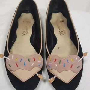 Tokidoki for London Sole Suede Ballet Flats 10